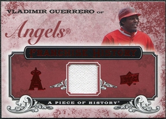 2008 Upper Deck UD A Piece of History Franchise History Jersey #FH26 Vladimir Guerrero