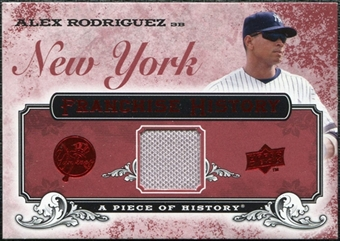 2008 Upper Deck UD A Piece of History Franchise History Jersey #FH38 Alex Rodriguez