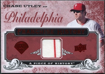 2008 Upper Deck UD A Piece of History Franchise History Jersey #FH42 Chase Utley