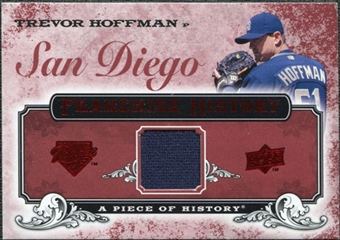 2008 Upper Deck UD A Piece of History Franchise History Jersey #FH45 Trevor Hoffman