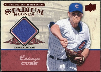2008 Upper Deck UD A Piece of History Stadium Scenes Jerseys #SS12 Kerry Wood