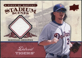 2008 Upper Deck UD A Piece of History Stadium Scenes Jerseys #SS24 Magglio Ordonez