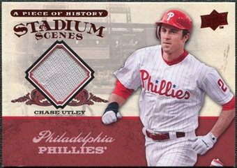 2008 Upper Deck UD A Piece of History Stadium Scenes Jerseys #SS42 Chase Utley