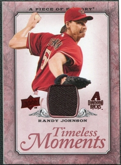 2008 Upper Deck UD A Piece of History Timeless Moments Jersey #1 Randy Johnson