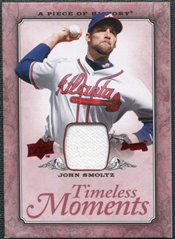 2008 Upper Deck UD A Piece of History Timeless Moments Jersey #3 John Smoltz