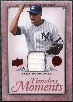 2008 Upper Deck UD A Piece of History Timeless Moments Jersey #36 Alex Rodriguez