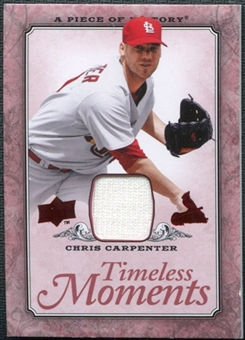 2008 Upper Deck UD A Piece of History Timeless Moments Jersey #48 Chris Carpenter