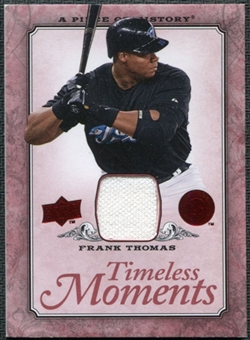 2008 Upper Deck UD A Piece of History Timeless Moments Jersey #49 Frank Thomas