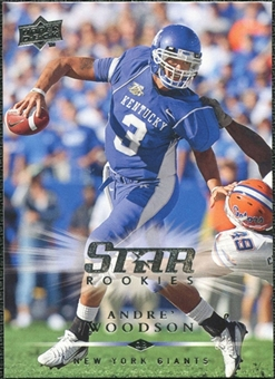 2008 Upper Deck #301 Andre Woodson SP RC