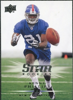 2008 Upper Deck #321 Kenny Phillips SP RC