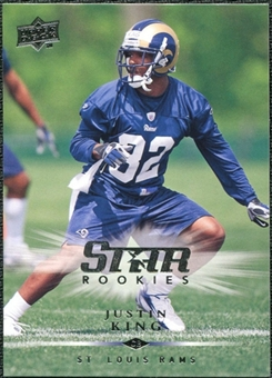 2008 Upper Deck #323 Justin King SP RC
