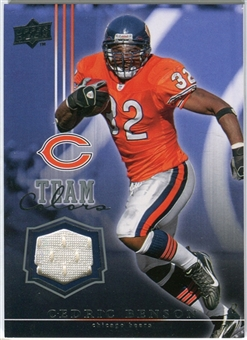 2008 Upper Deck Team Colors Jerseys #TCCB Cedric Benson