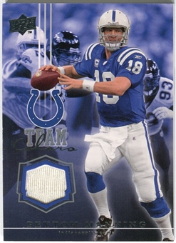 2008 Upper Deck Team Colors Jerseys #TCPM Peyton Manning