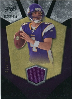 2008 Upper Deck Icons Rookie Brilliance Jersey Silver #RB19 John David Booty /199