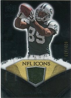 2008 Upper Deck Icons NFL Icons Jersey Silver #NFL43 Jerricho Cotchery /150