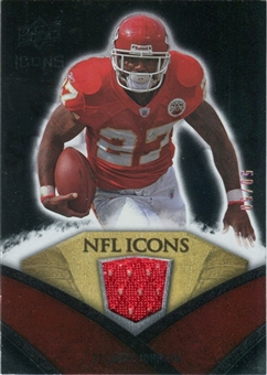 2008 Upper Deck Icons NFL Icons Jersey Gold #NFL31 Larry Johnson /50