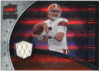 2008 Upper Deck Icons Future Foundations Jersey Silver #FF11 Derek Anderson /199