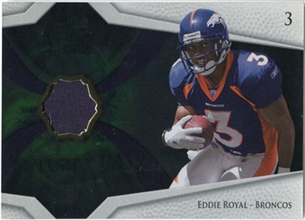 2008 Upper Deck Icons Future Stars Materials #FSM17 Eddie Royal