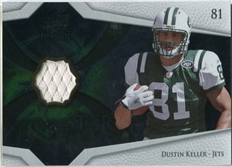 2008 Upper Deck Icons Future Stars Materials #FSM19 Dustin Keller