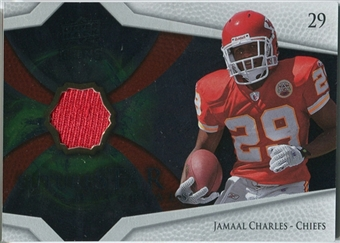 2008 Upper Deck Icons Future Stars Materials #FSM20 Jamaal Charles