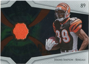 2008 Upper Deck Icons Future Stars Materials #FSM23 Jerome Simpson