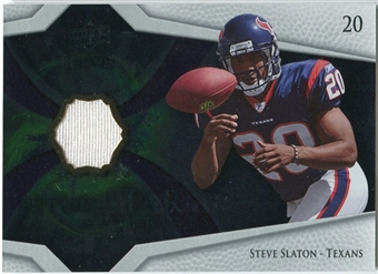 2008 Upper Deck Icons Future Stars Materials #FSM26 Steve Slaton