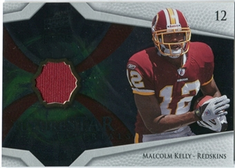 2008 Upper Deck Icons Future Stars Materials #FSM27 Malcolm Kelly
