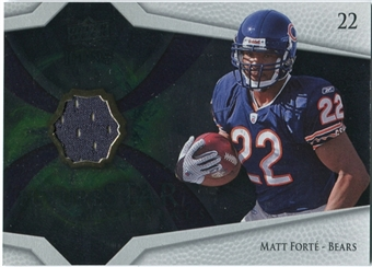 2008 Upper Deck Icons Future Stars Materials #FSM29 Matt Forte