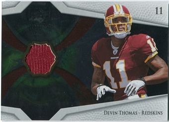 2008 Upper Deck Icons Future Stars Materials #FSM31 Devin Thomas