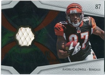 2008 Upper Deck Icons Future Stars Materials #FSM33 Andre Caldwell