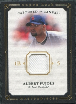 2008 Upper Deck UD Masterpieces Captured on Canvas #AP Albert Pujols