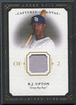 2008 Upper Deck UD Masterpieces Captured on Canvas #BU B.J. Upton