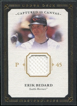 2008 Upper Deck UD Masterpieces Captured on Canvas #EB Erik Bedard