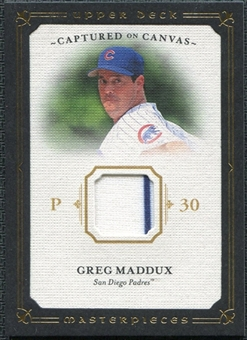 2008 Upper Deck UD Masterpieces Captured on Canvas #GM Greg Maddux