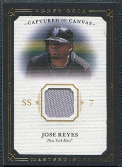 2008 Upper Deck UD Masterpieces Captured on Canvas #JR Jose Reyes