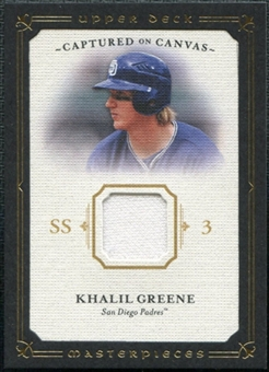 2008 Upper Deck UD Masterpieces Captured on Canvas #KG Khalil Greene