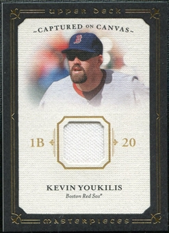 2008 Upper Deck UD Masterpieces Captured on Canvas #KY Kevin Youkilis