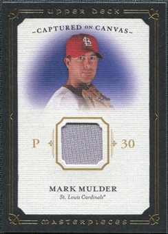 2008 Upper Deck UD Masterpieces Captured on Canvas #MM Mark Mulder