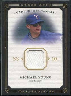 2008 Upper Deck UD Masterpieces Captured on Canvas #MY Michael Young
