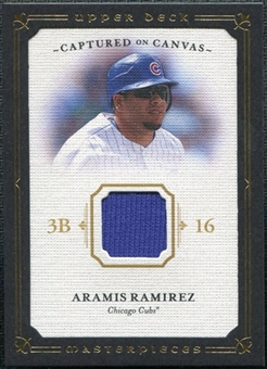 2008 Upper Deck UD Masterpieces Captured on Canvas #RA Aramis Ramirez