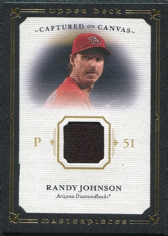 2008 Upper Deck UD Masterpieces Captured on Canvas #RJ Randy Johnson