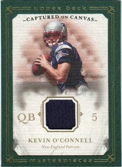2008 Upper Deck UD Masterpieces Captured on Canvas Jerseys #CC20 Kevin O'Connell