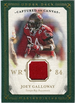 2008 Upper Deck UD Masterpieces Captured on Canvas Jerseys #CC37 Joey Galloway