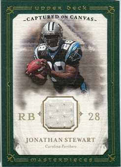 2008 Upper Deck UD Masterpieces Captured on Canvas Jerseys #CC39 Jonathan Stewart