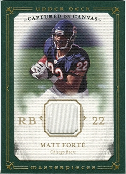2008 Upper Deck UD Masterpieces Captured on Canvas Jerseys #CC49 Matt Forte