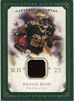 2008 Upper Deck UD Masterpieces Captured on Canvas Jerseys #CC60 Reggie Bush