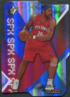 2008/09 Upper Deck SPx Radiance #5 Rasheed Wallace 3/25