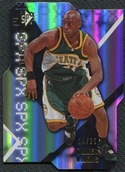 2008/09 Upper Deck SPx Radiance #88 Damien Wilkins /25
