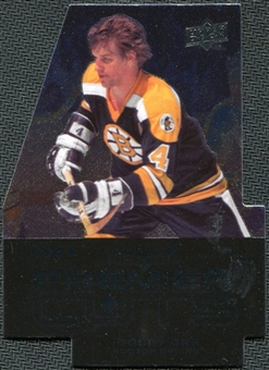 2008/09 Upper Deck Black Diamond Premier Die-Cut #PDC56 Bobby Orr