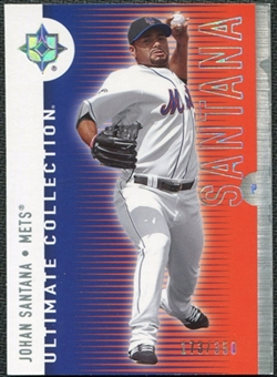 2008 Upper Deck Ultimate Collection #4 Johan Santana /350
